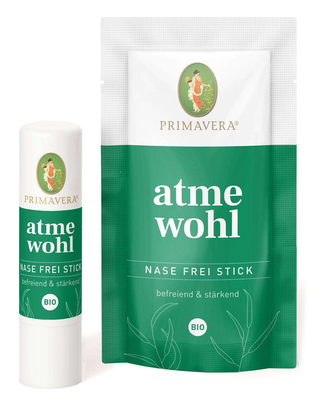 Bio Atmewohl Nase frei Stick, 10 ml