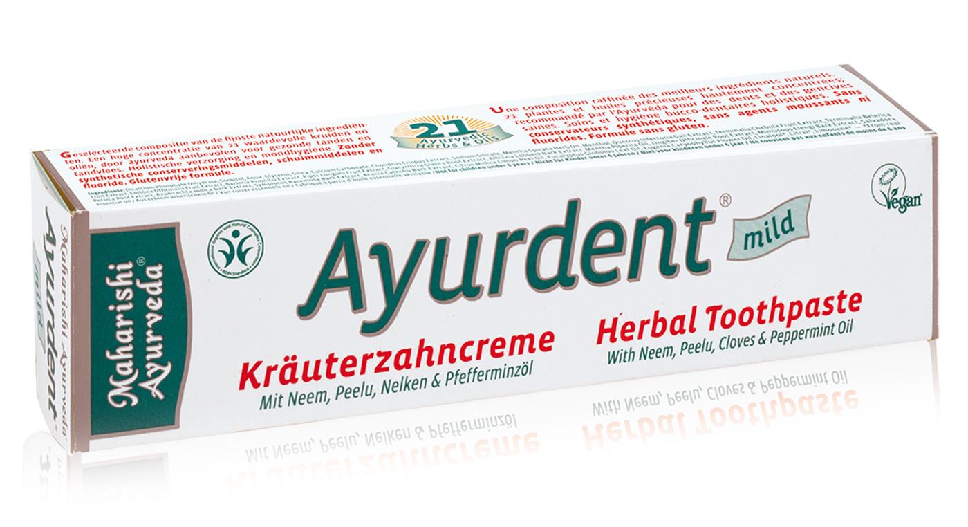 Zahncreme Ayurdent mild, 75 ml