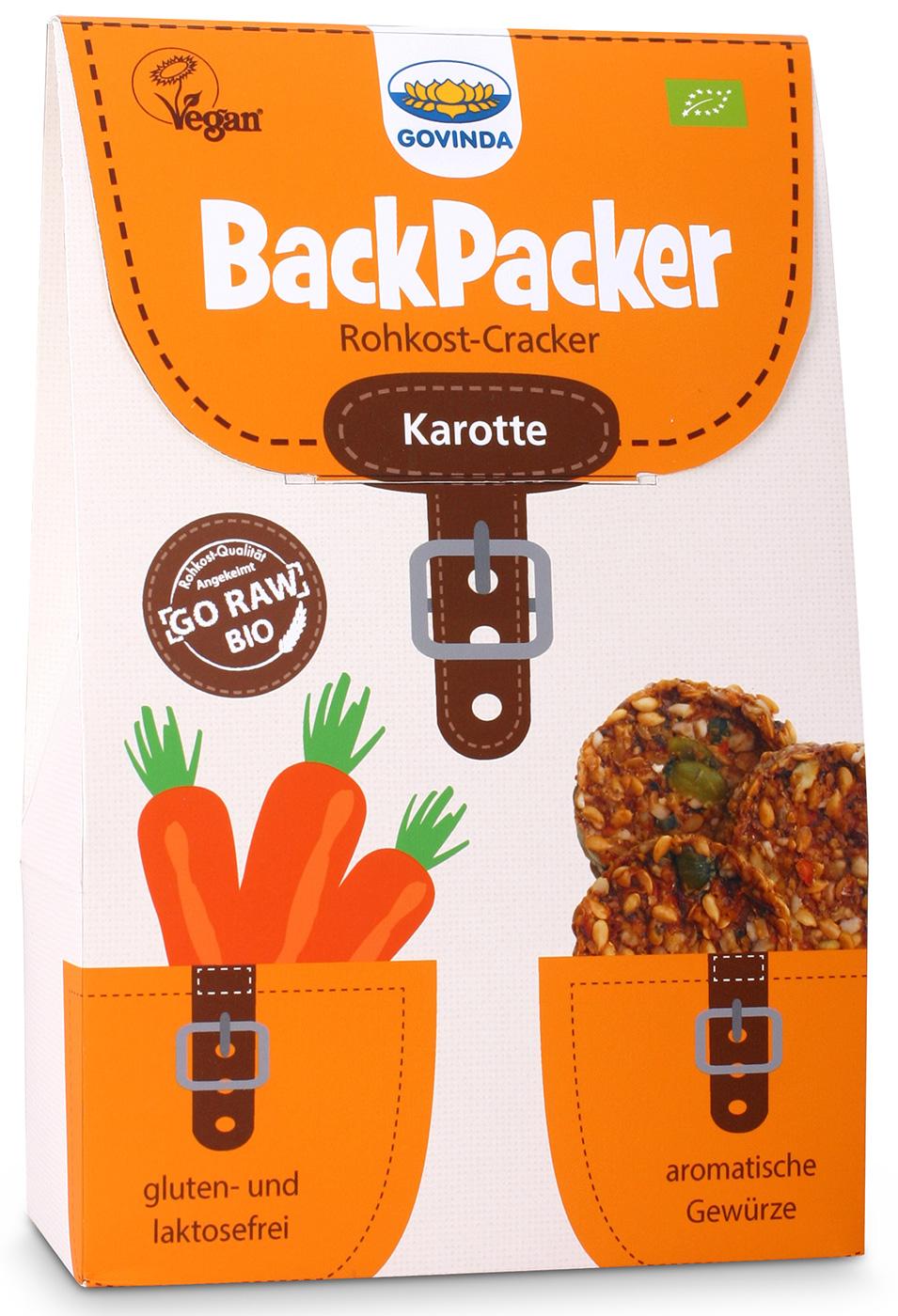Bio Backpacker Karotte, 80 g