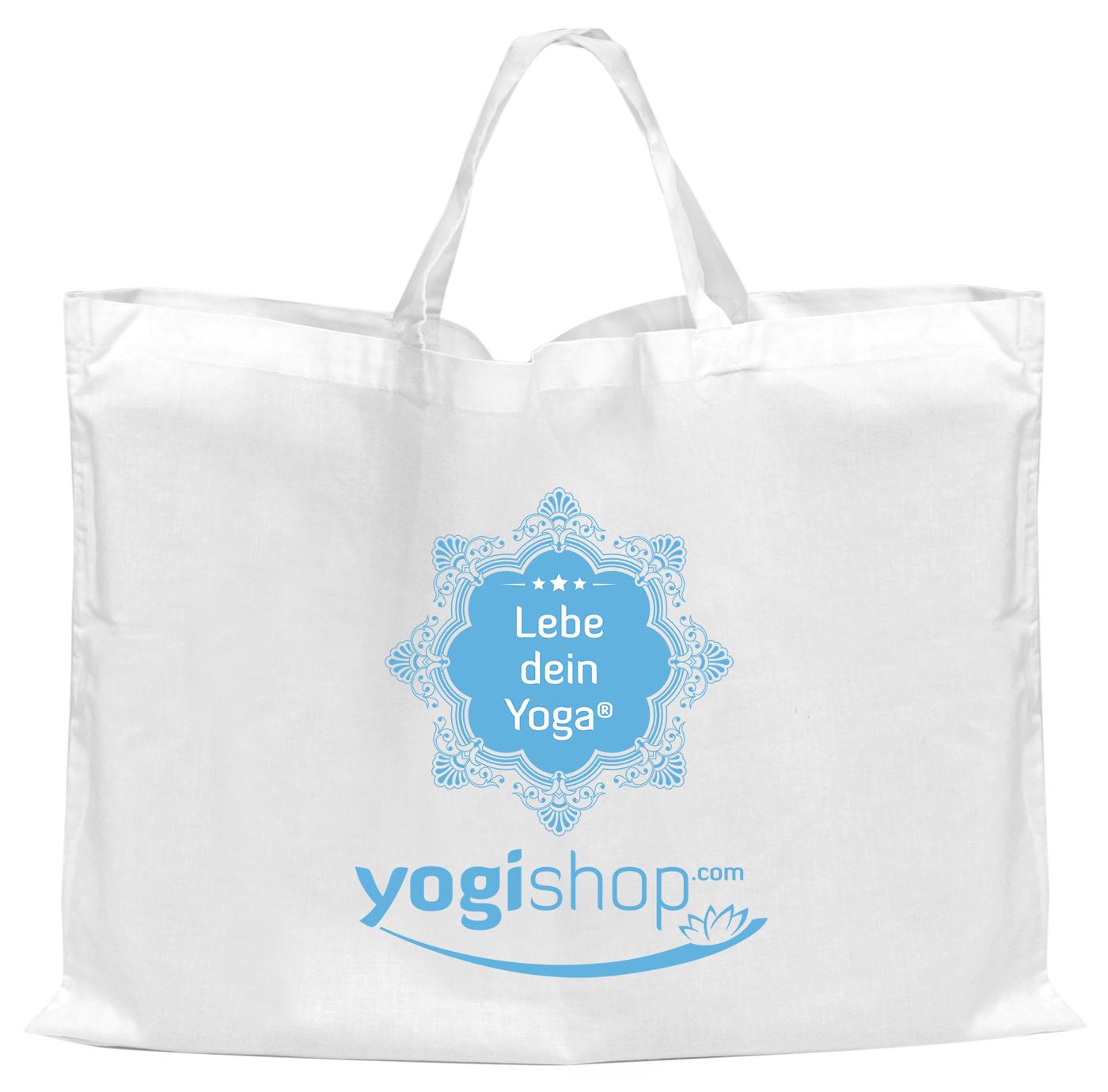 """Baumwolltasche """"Yogishop"""", groß"""