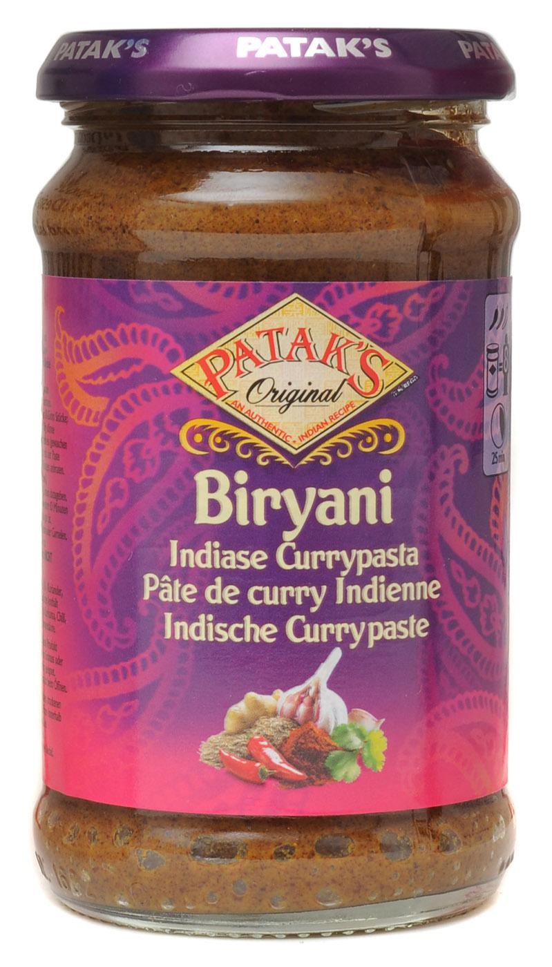 """Indische Curry Paste """"Biryani"""", 283g"""