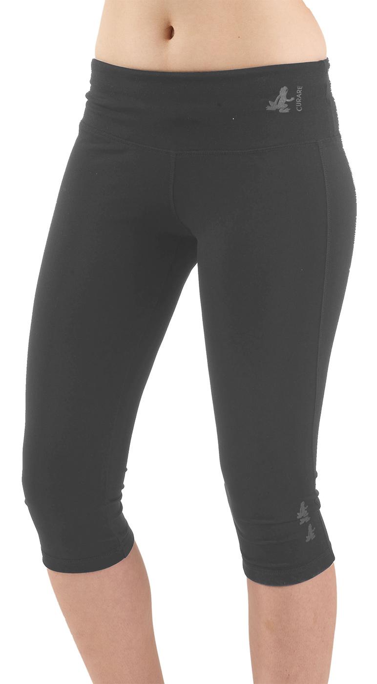 Capri-Pants, tight - stone