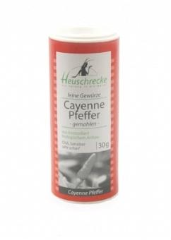 Bio Cayenne Pfeffer (gemahlen), 30 g