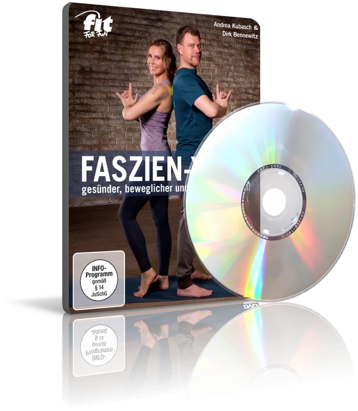 Faszien-Yoga mit Andrea Kubasch, Dirk Bennewitz (DVD)