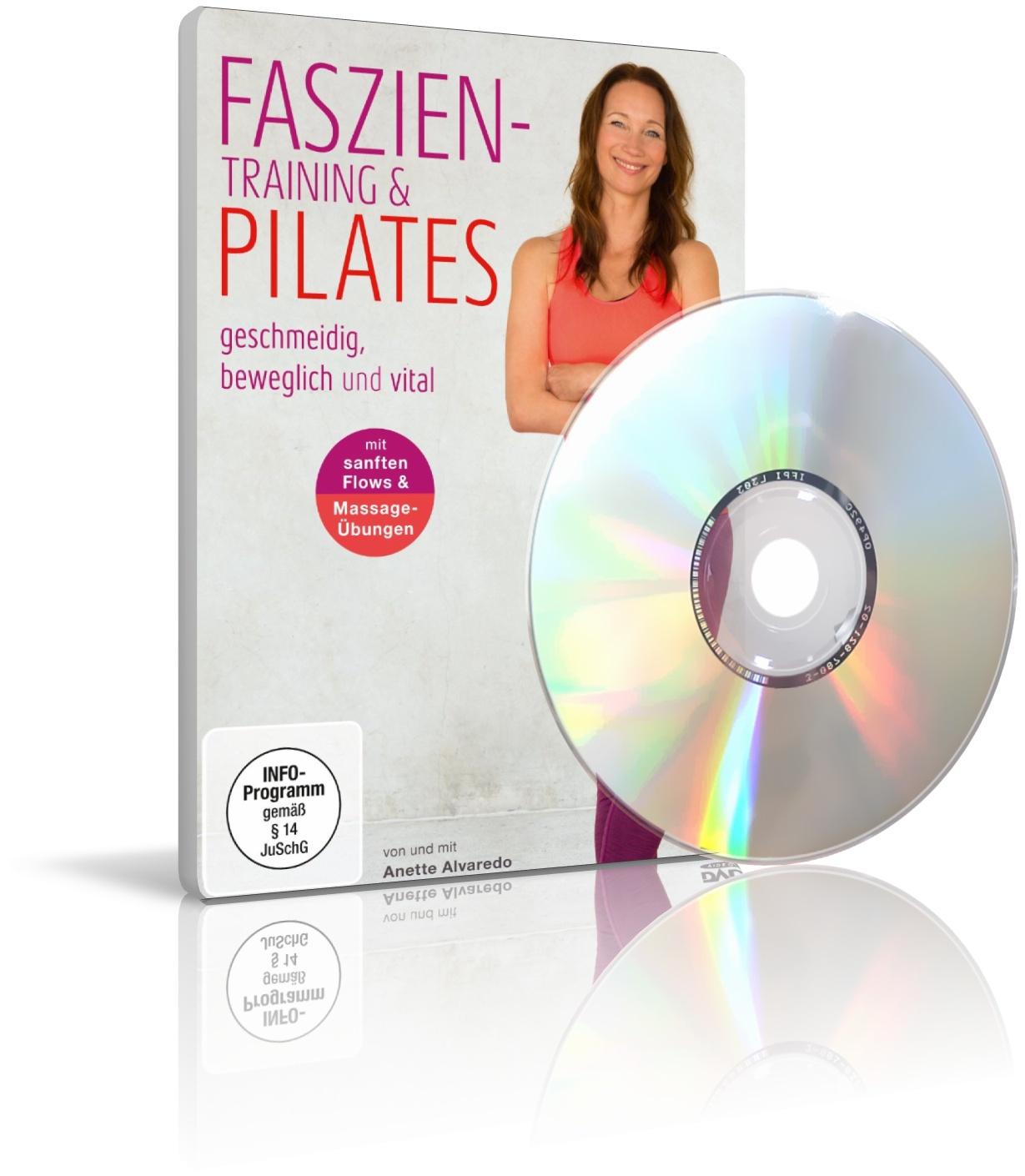 Faszien-Training & Pilates von und mit Anette Alvaredo (DVD)
