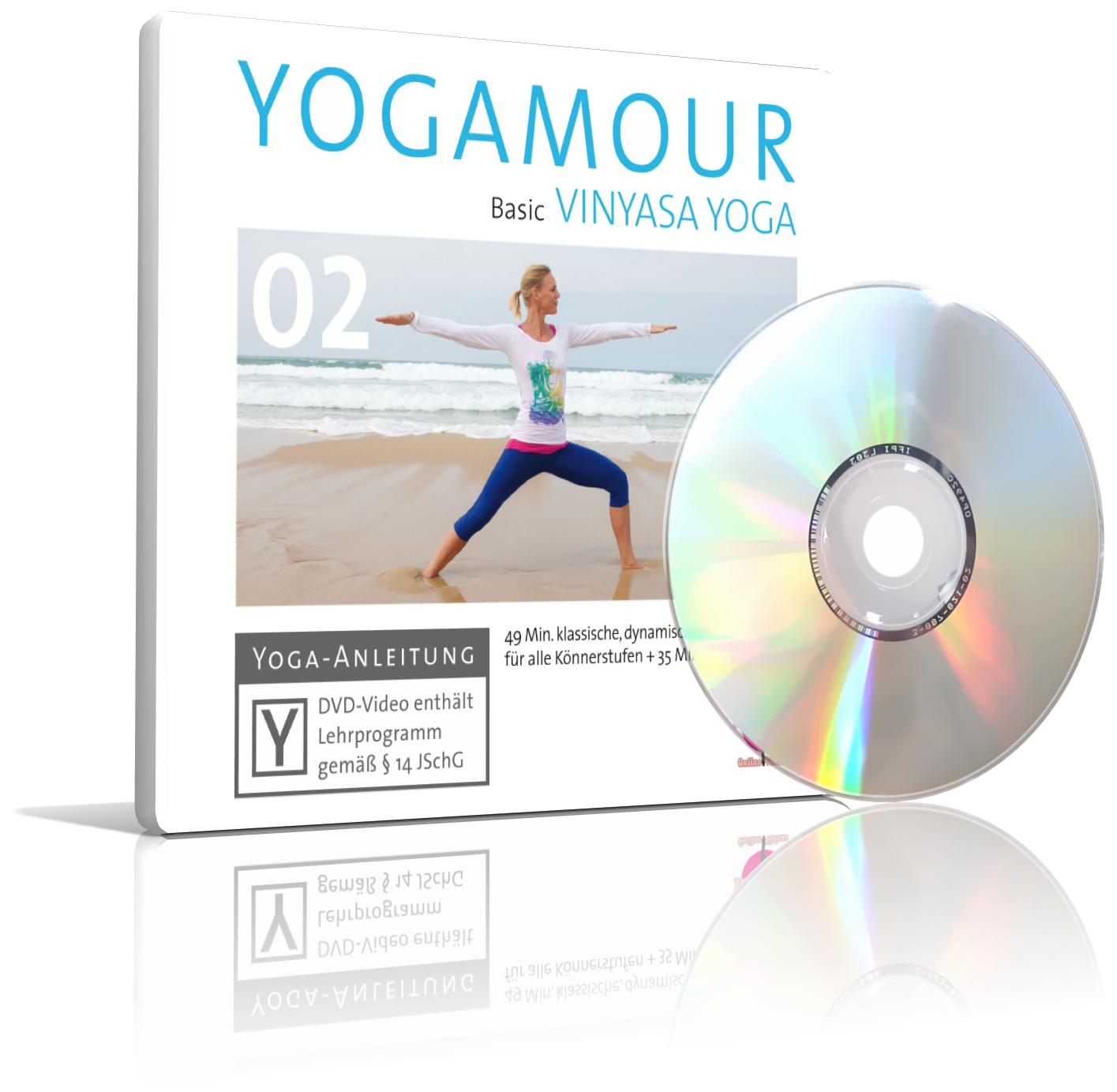 YOGAMOUR 02 Basic VINYASA YOGA von YOGAMOUR (DVD)