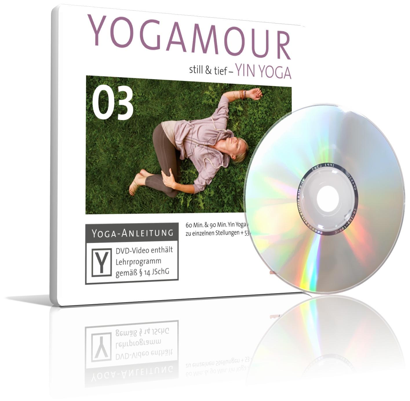 Yin Yoga, still & tief von YOGAMOUR (DVD)