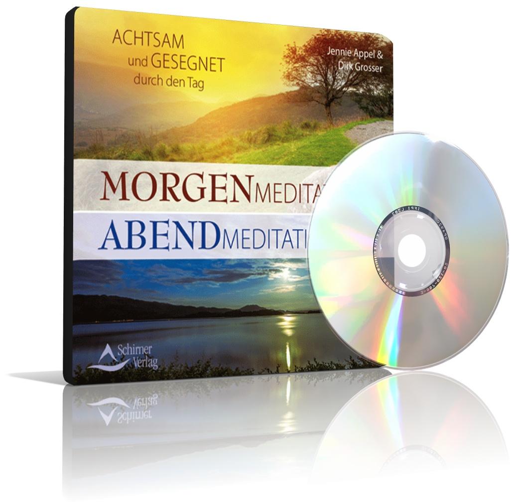 Morgenmeditation - Abendmeditation von Jennie Appel, Dirk Grosser (CD)