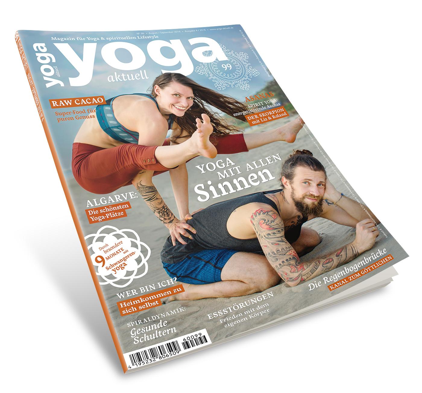 Yoga Aktuell 99 - 04/2016