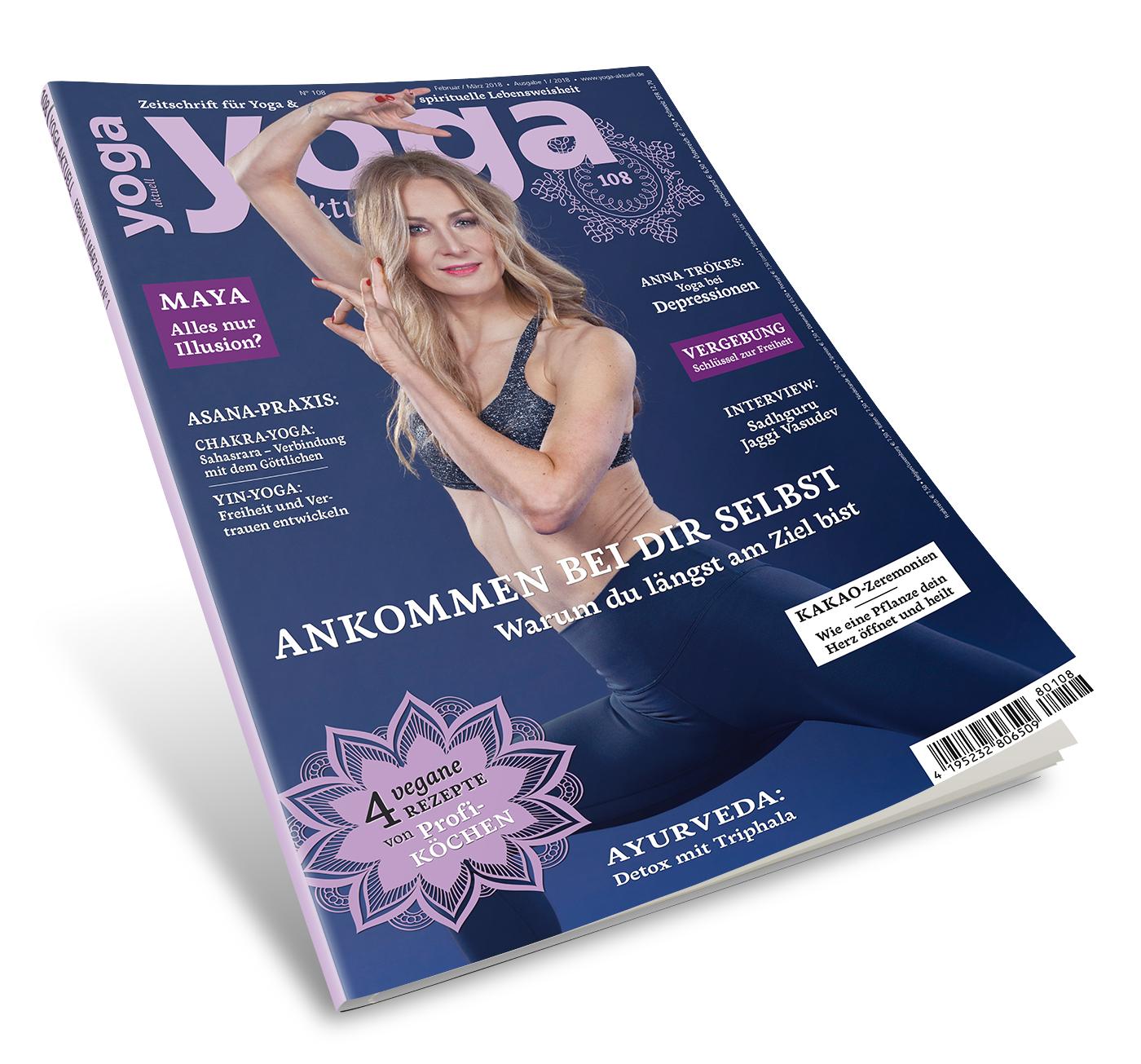 Yoga Aktuell 108 - 01/2018