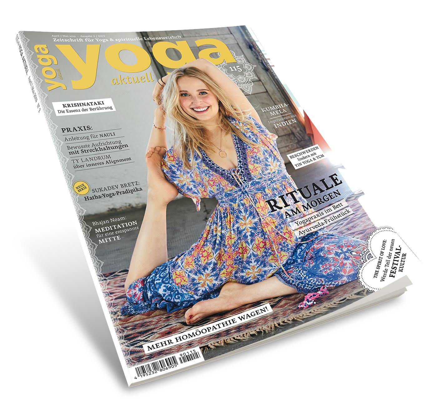 Yoga Aktuell 115 - 02/2019