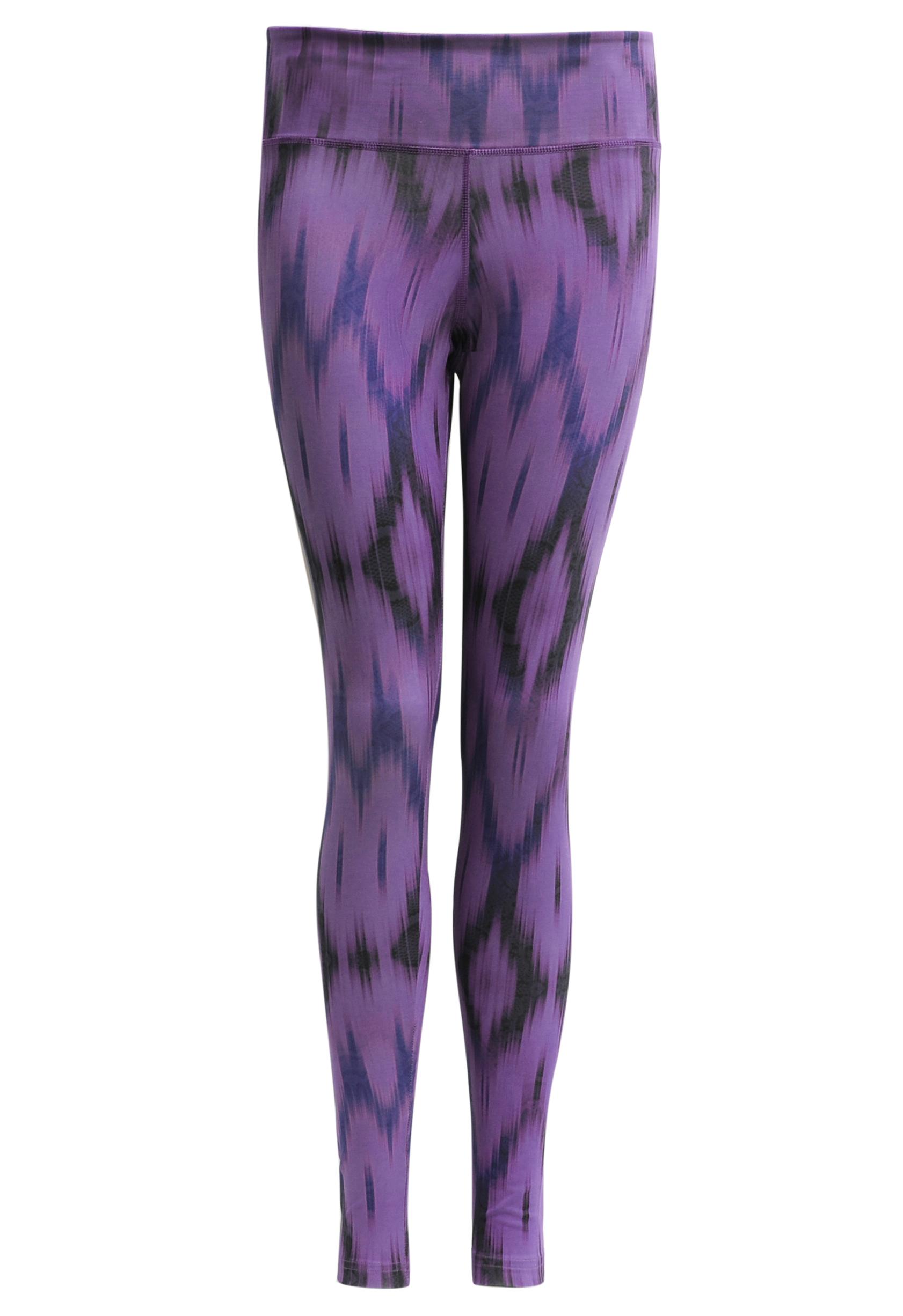 """Yoga-Leggings """"Devi"""" - Ikat purple"""