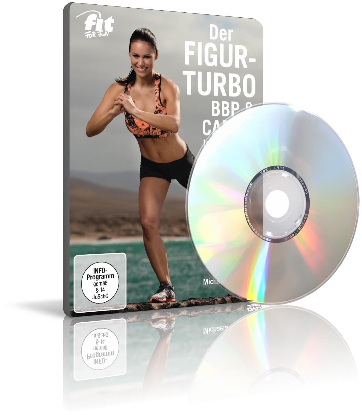 Der Figur-Turbo: BBP & Cardio von und mit Michaela Süßbauer (DVD)