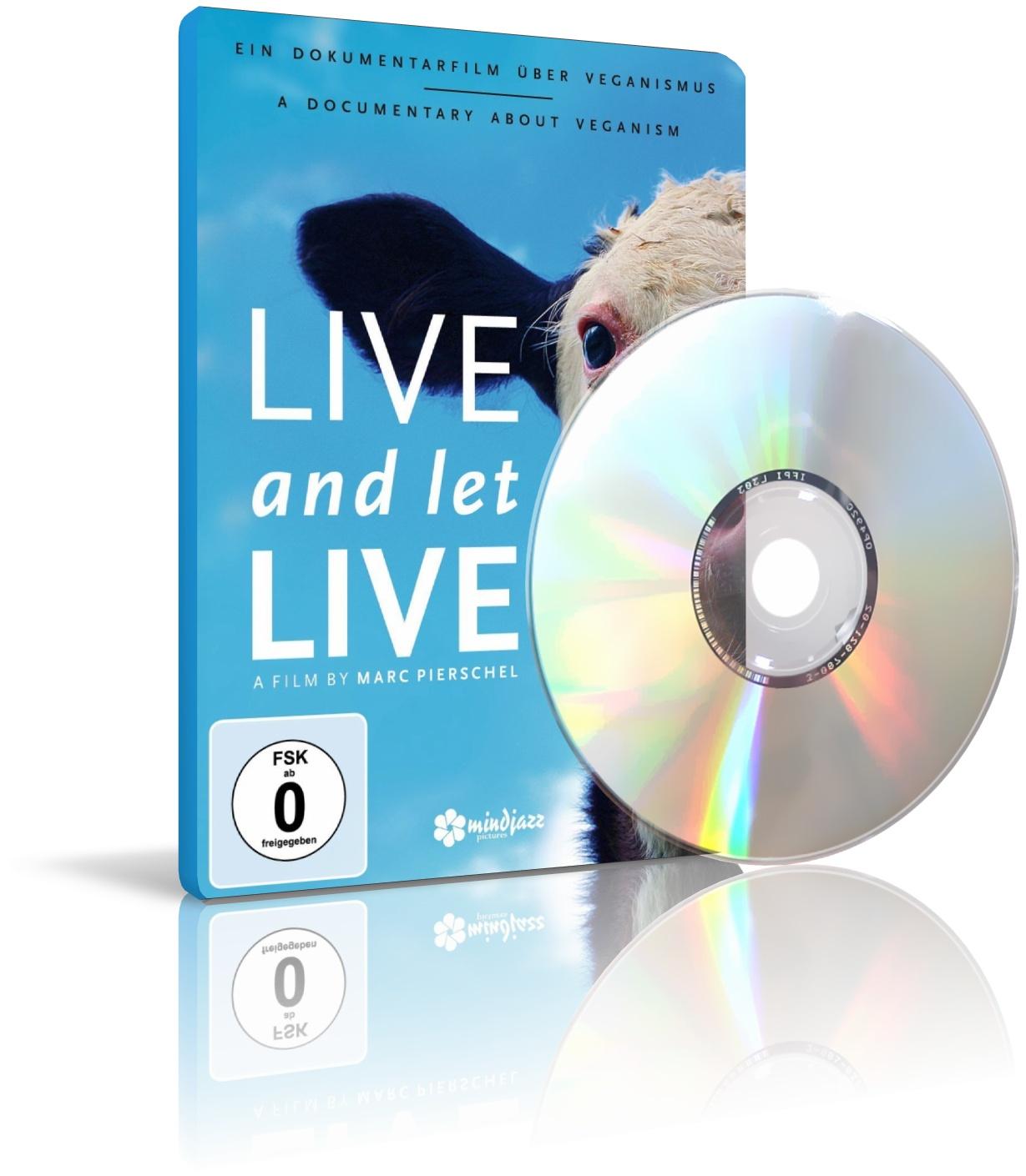 Live and let Live von Marc Pierschel (DVD) im YOGISHOP kaufen | Yoga, Yogamatten & Yoga-Zubehör