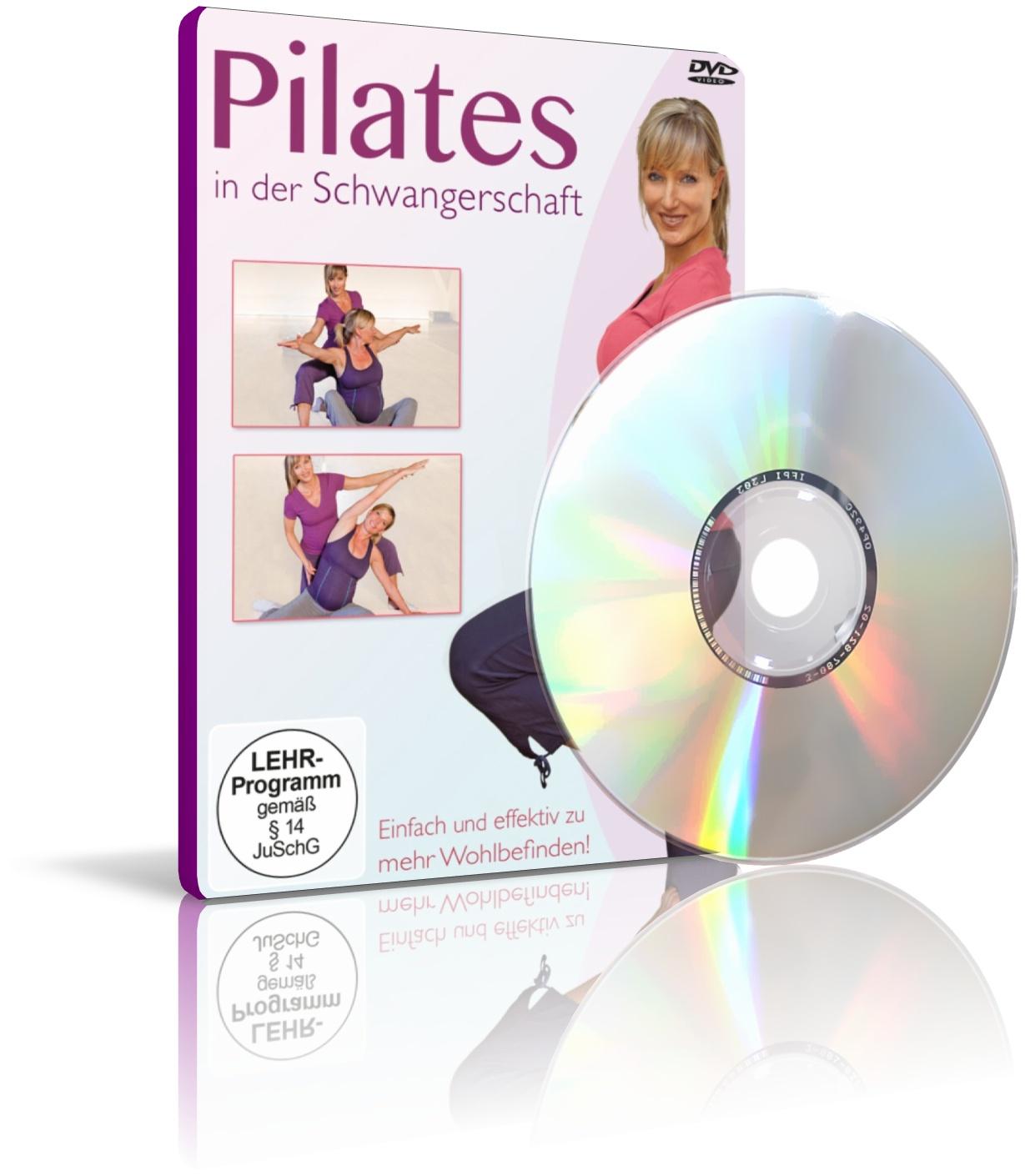 Pilates in der Schwangerschaft mit Ines Vogel (DVD)
