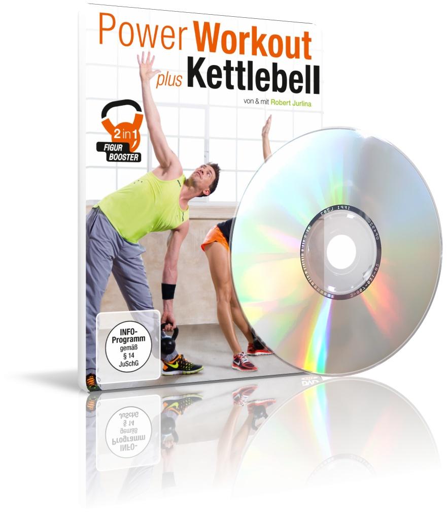 Power Workout plus Kettlebell von Robert Jurlina (DVD)