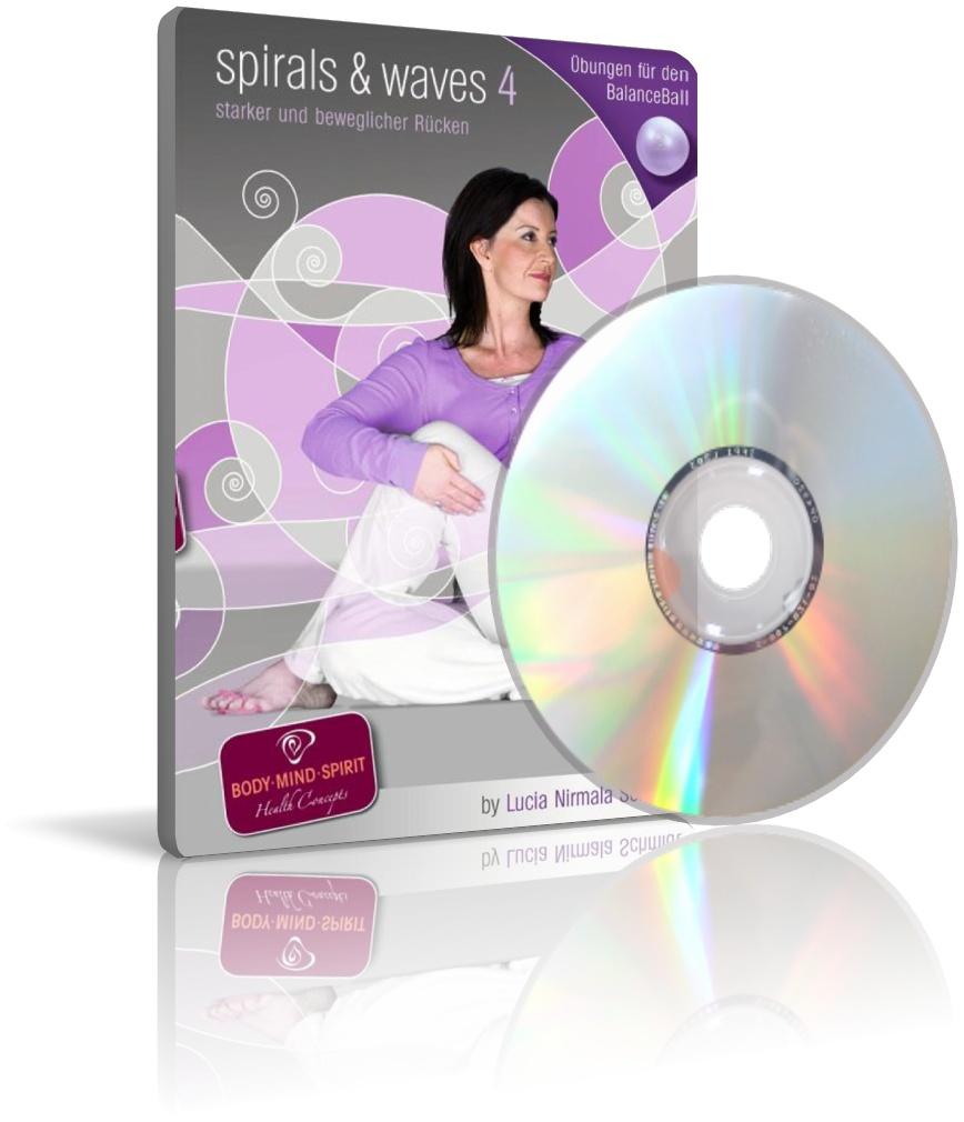 spirals & waves 4 von Lucia Nirmala Schmidt (DVD)