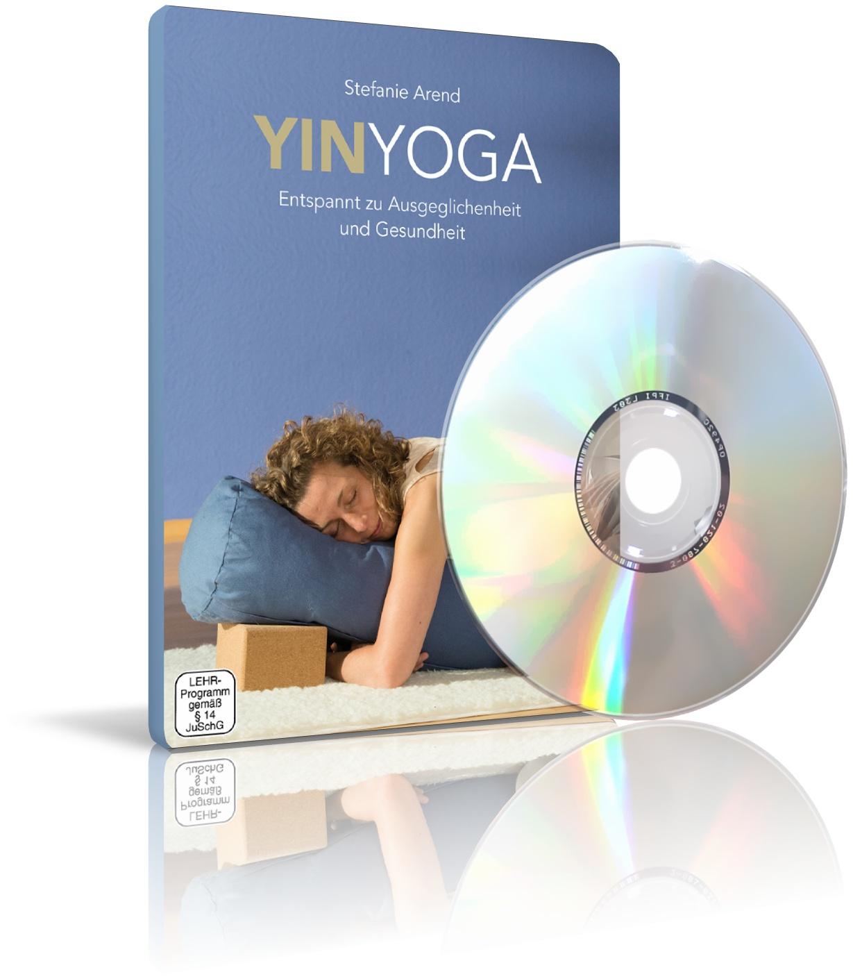 YinYoga - Entspannt zu Ausgeglichenheit und Gesundheit von Stefanie Arend (DVD)