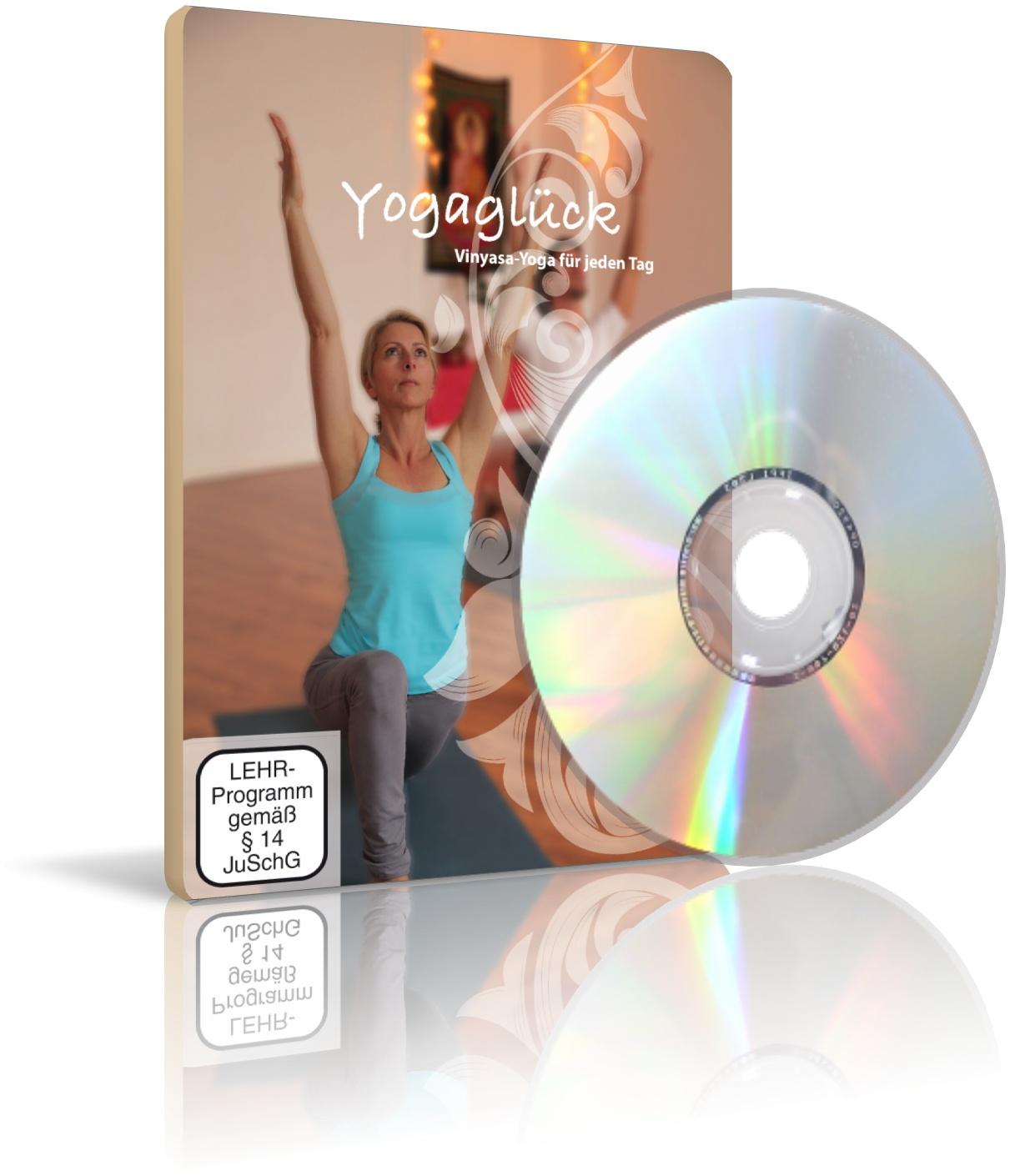 Yogaglück von Simone Behlendorf (DVD)