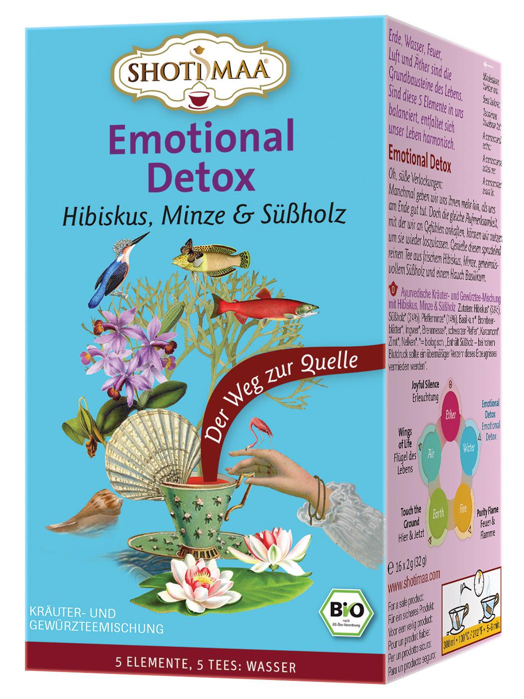 Bio Emotional Detox Teemischung, 32 g