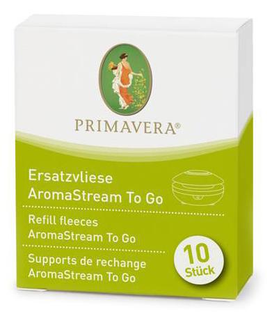 Ersatzvliese AromaStream To Go, 10 Stück