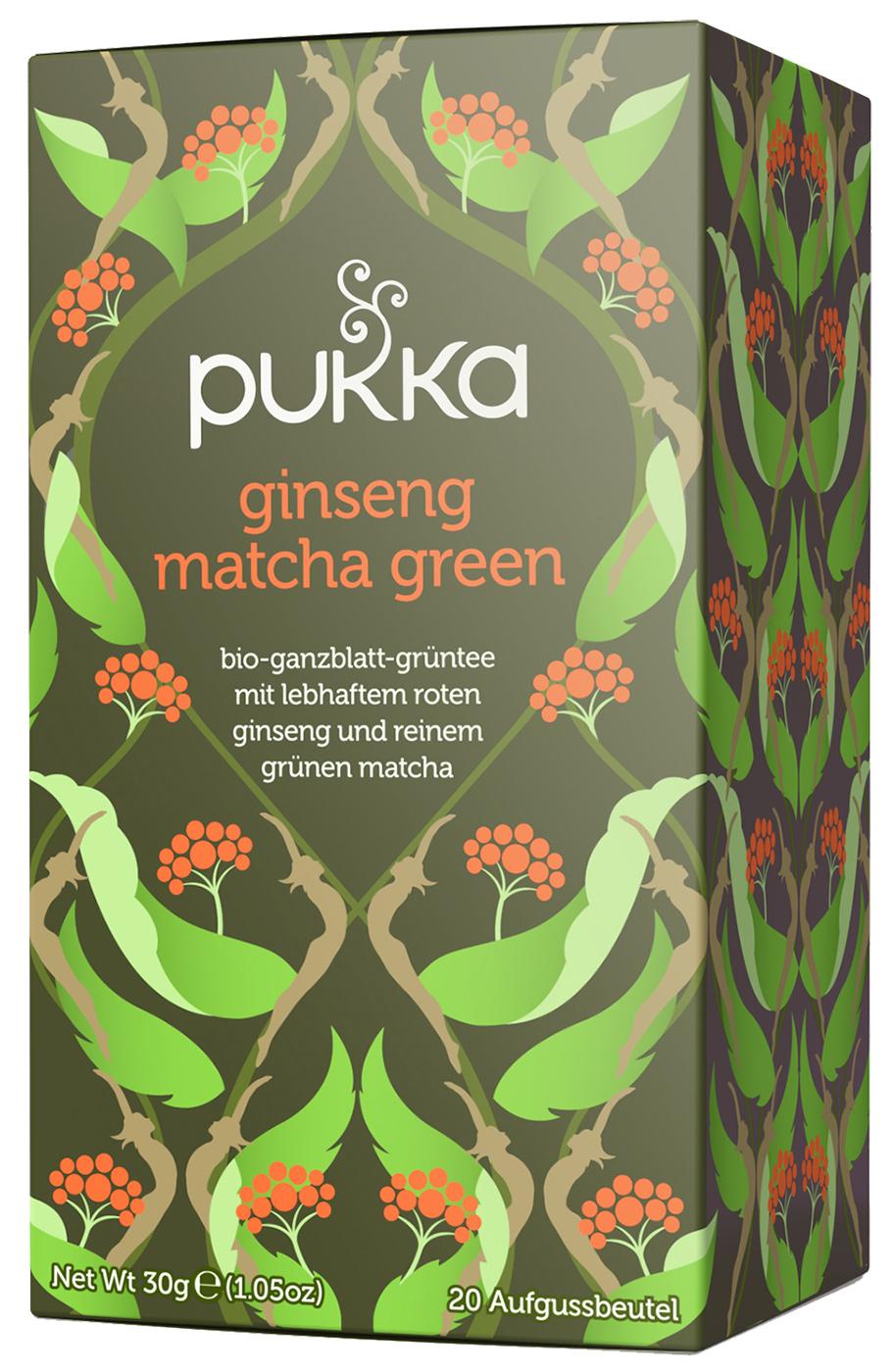 Bio Ginseng Matcha Green Teemischung, 30 g