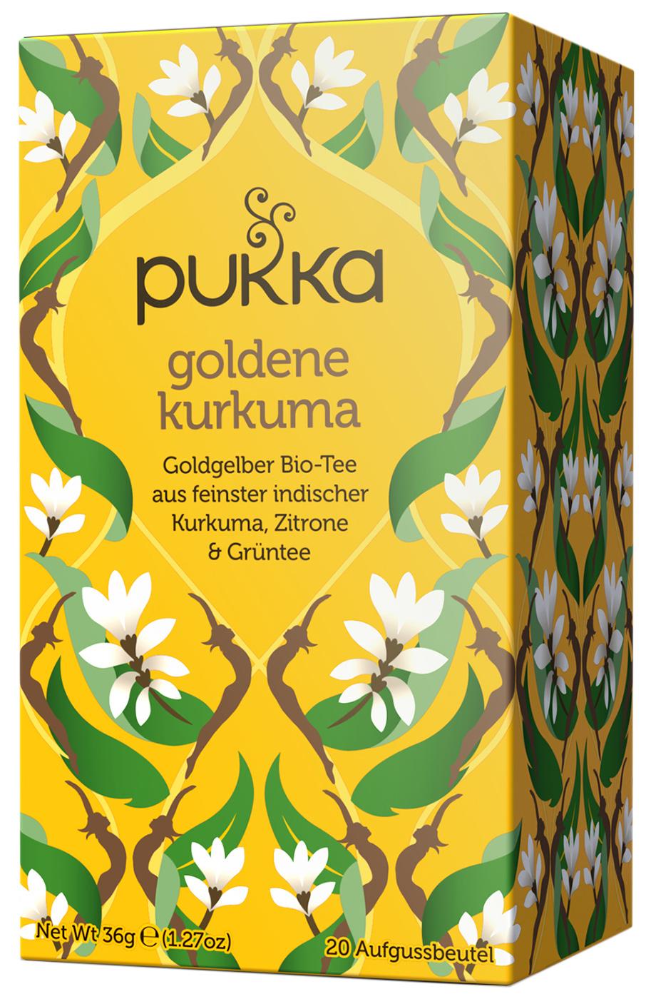 Bio Goldene Kurkuma Teemischung, 36 g
