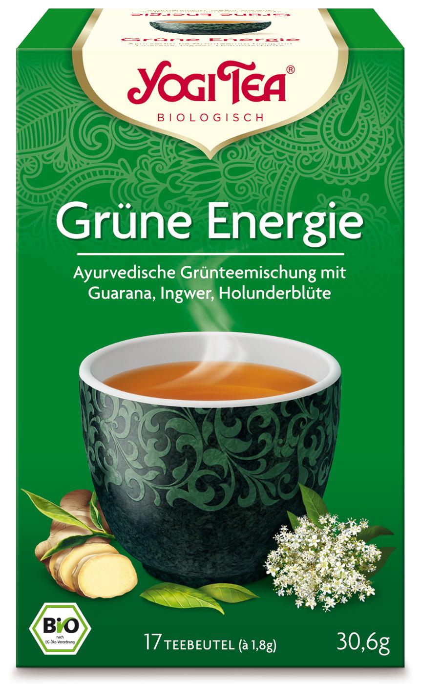 Bio Grüne Energie Teemischung, 30,6 g