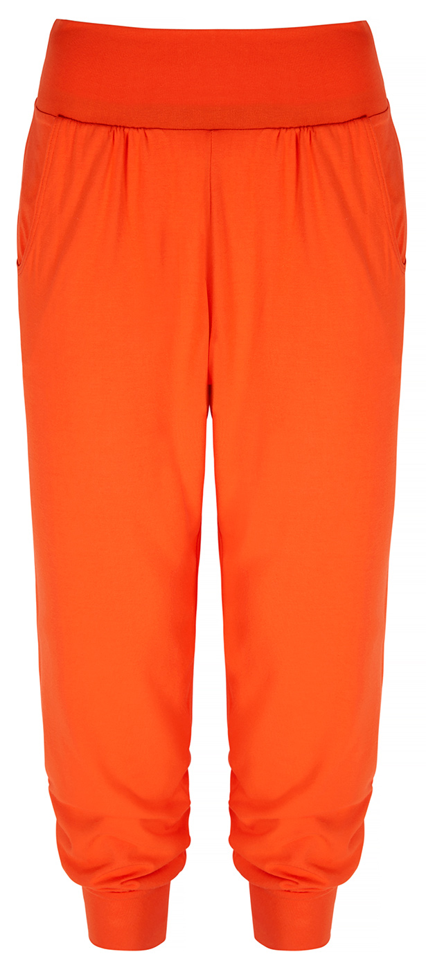 "Harem-Pants ""Bamboo"" - disco orange"