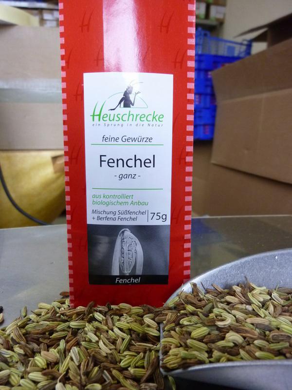 Bio Fenchel Mischung (ganz), 75 g
