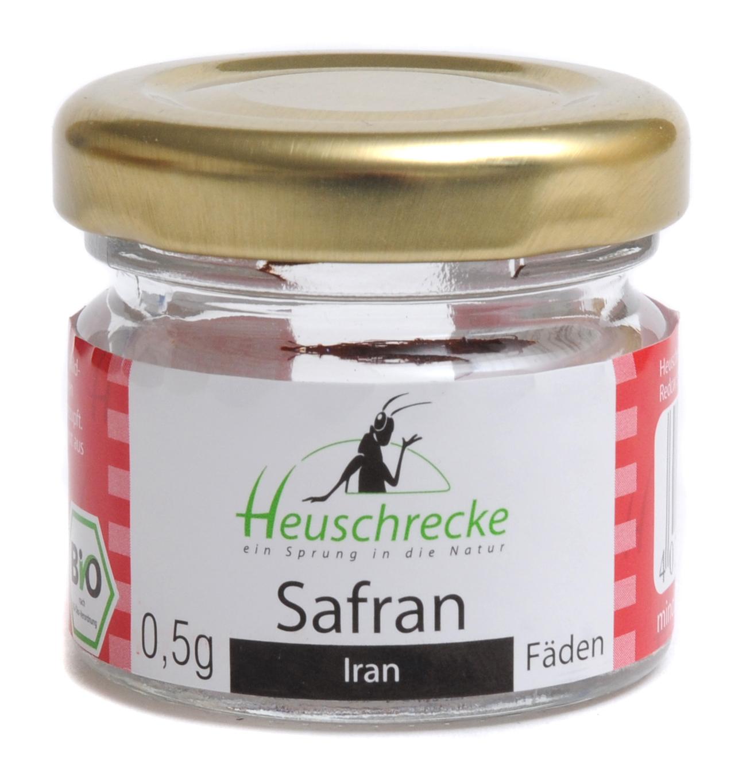 Bio Safran (Fäden, Top-Qualität aus Iran), 0,5 g