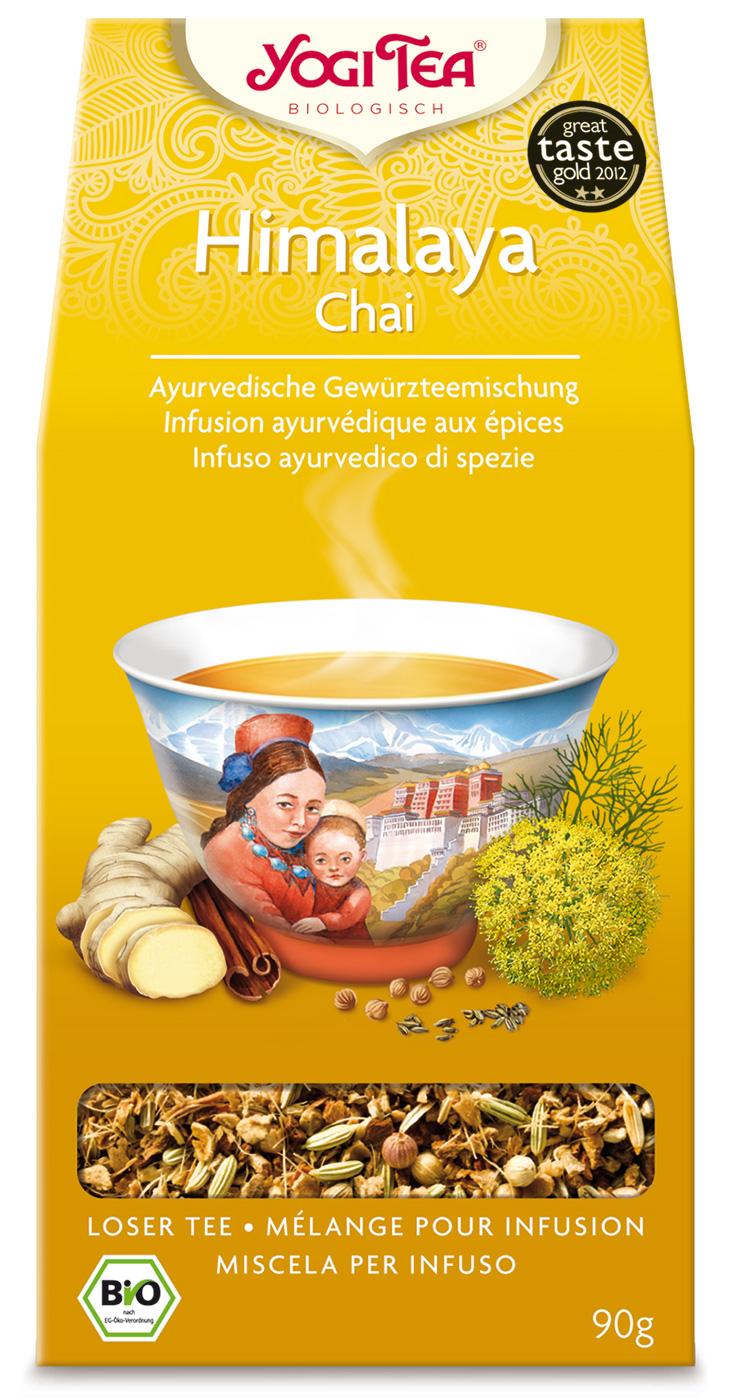 Bio Himalaya Chai lose Teemischung, 90 g