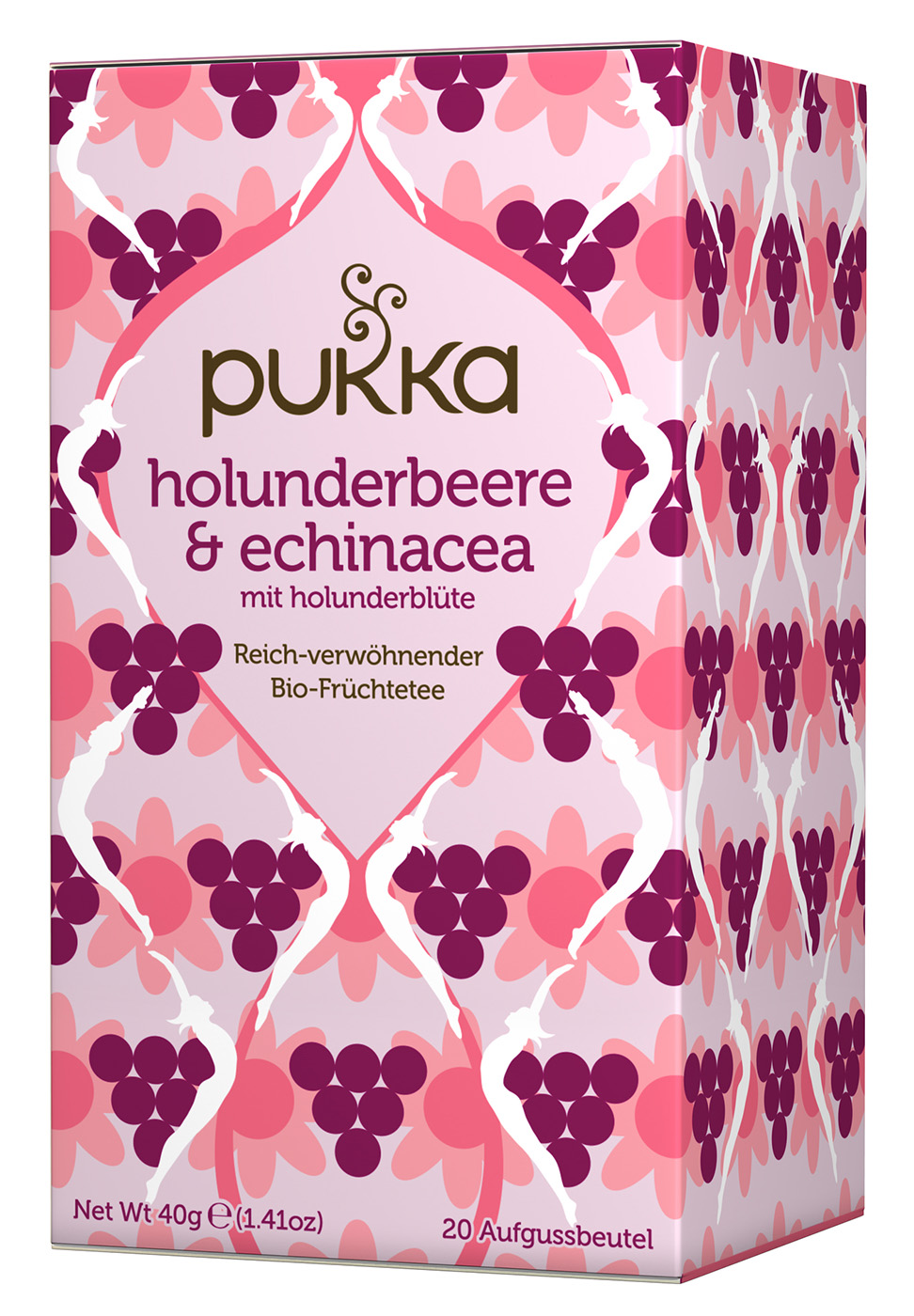 Bio Holunderbeere & Echinacea Teemischung, 40 g