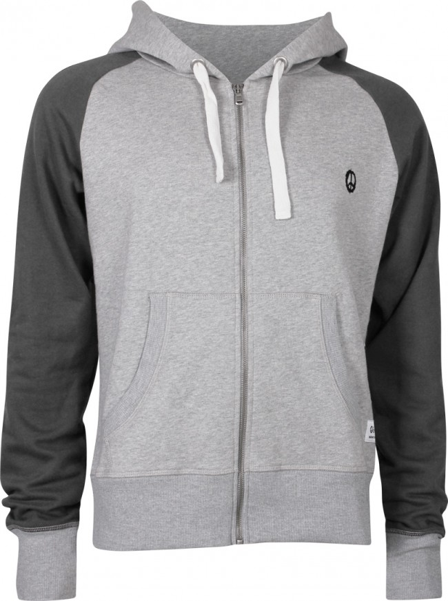 Hooded Jacket, grey-melange
