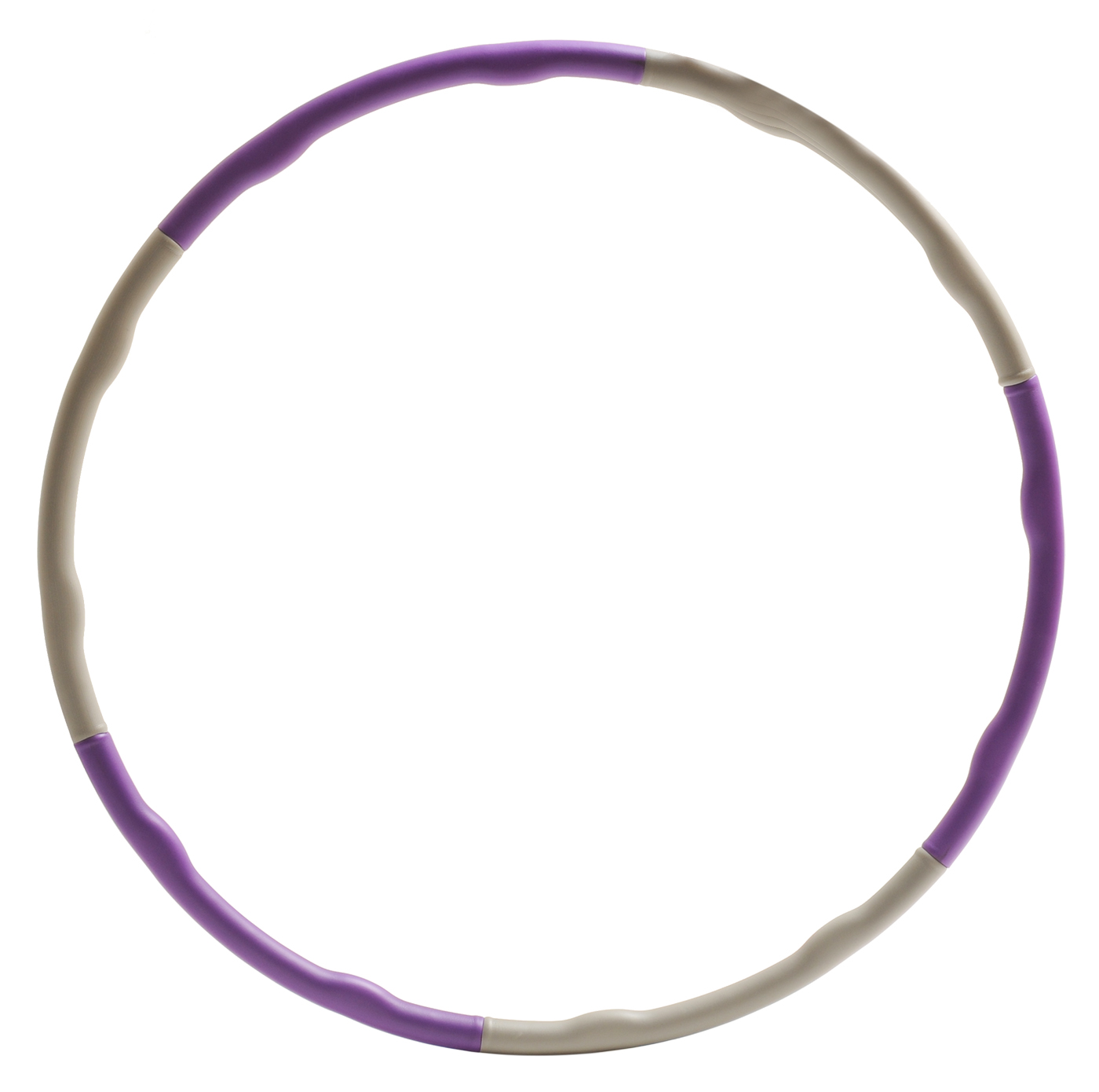 Hula Hoop wave - violet/grey
