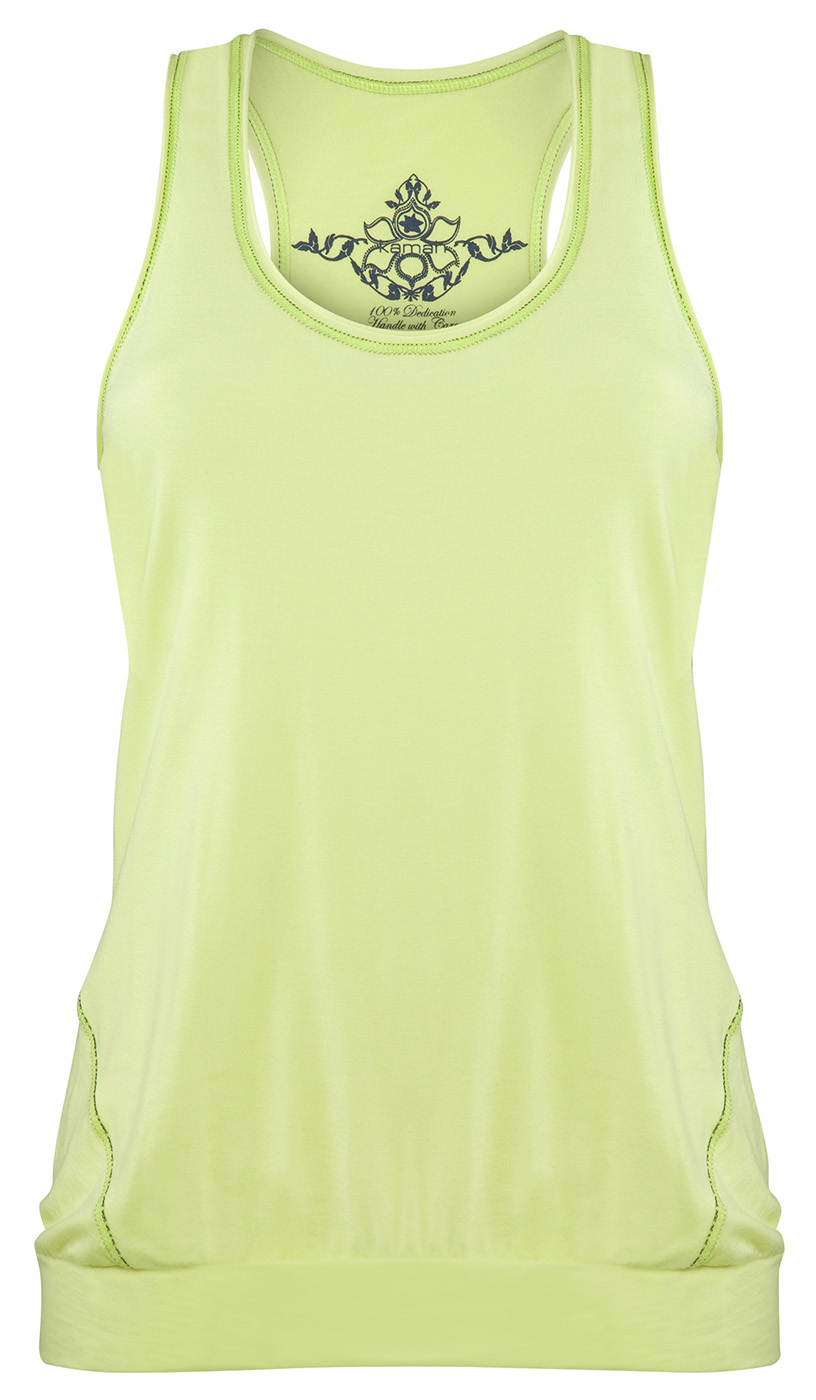 "Sport Tank-Top ""Iris"", lemon"