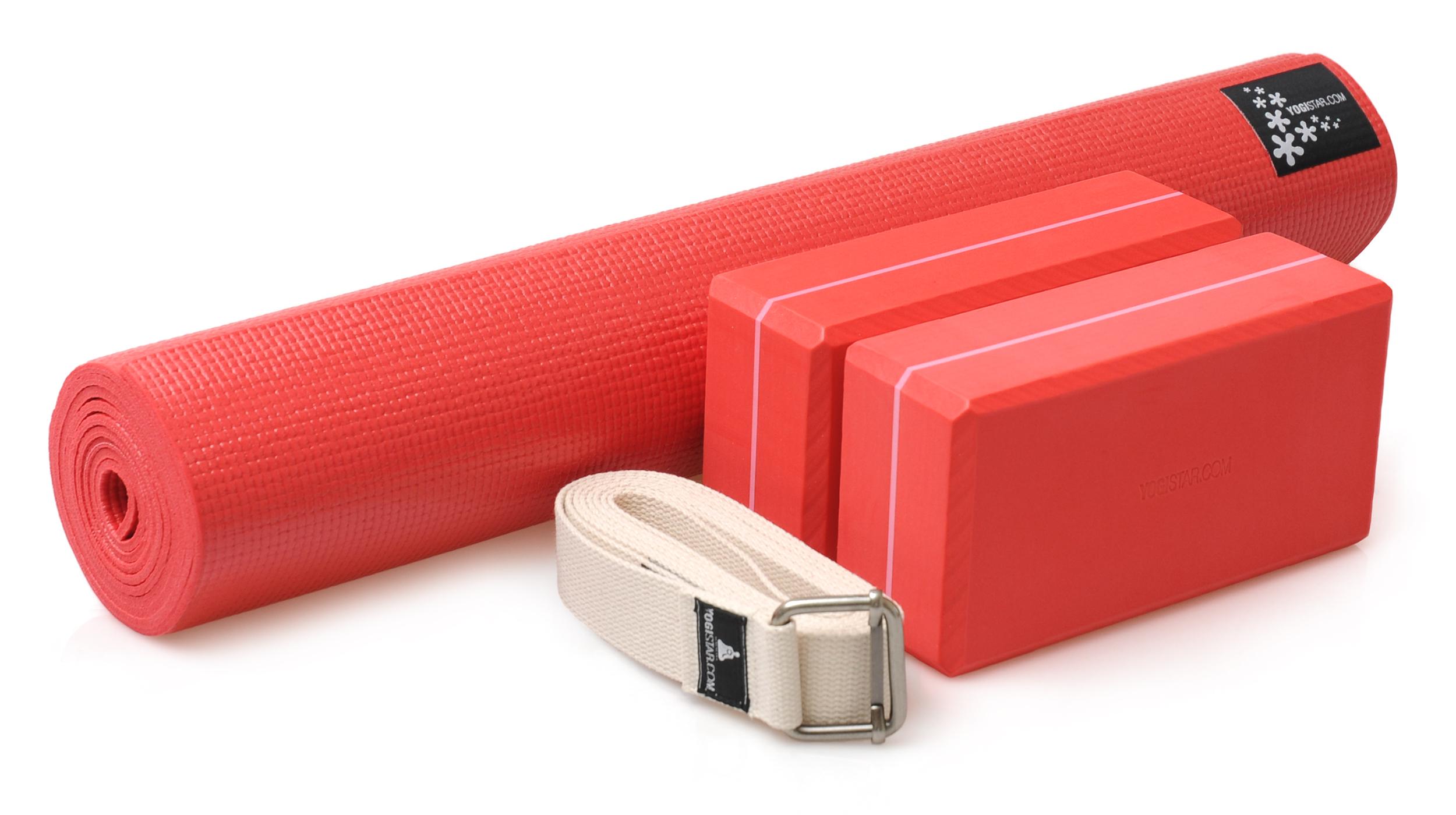 Yoga-Set kick it - two (Yogamatte + 2x Yogablock + Yogagurt)