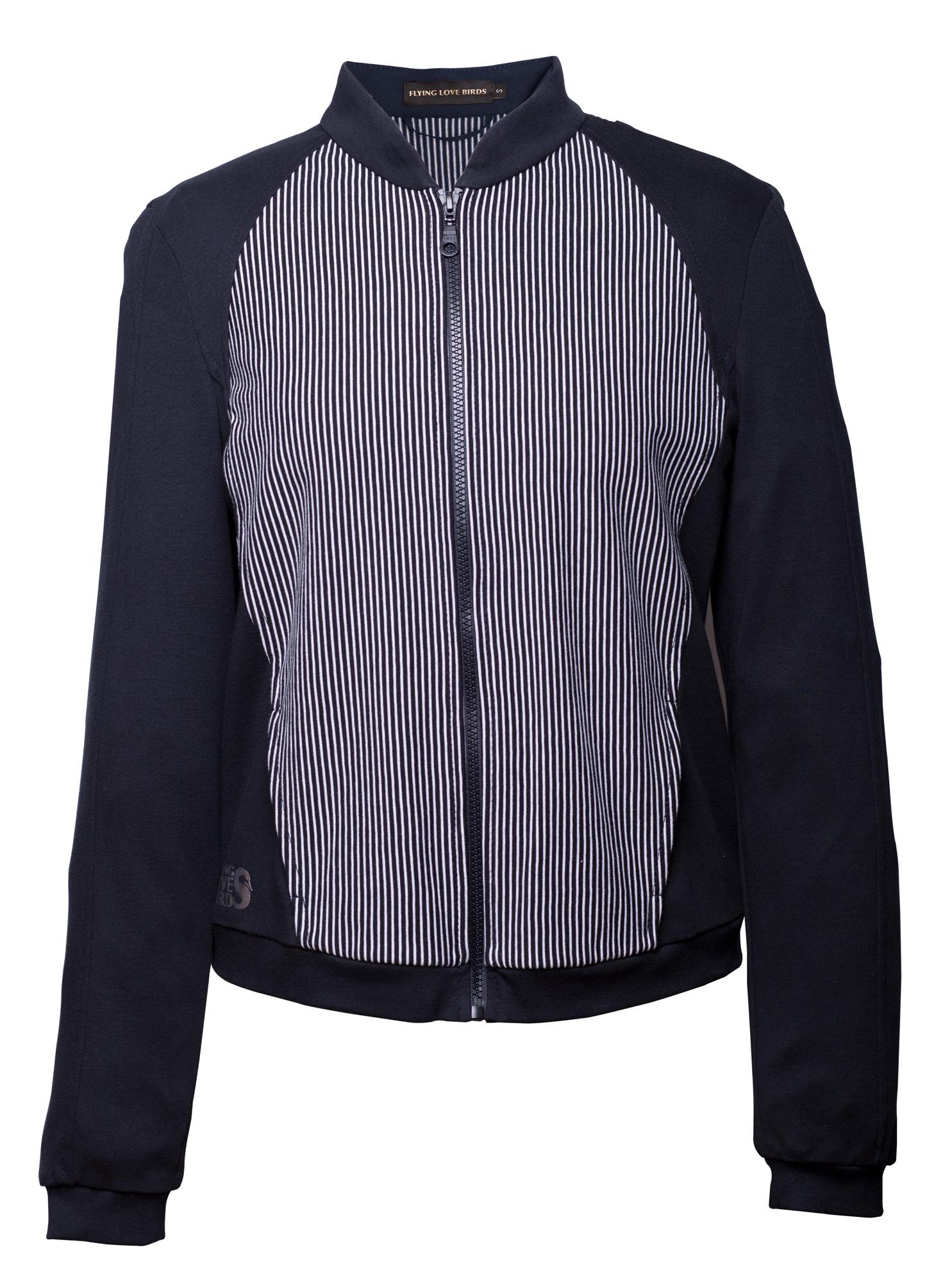 """Jacket """"Ommm"""" - black/creme"""