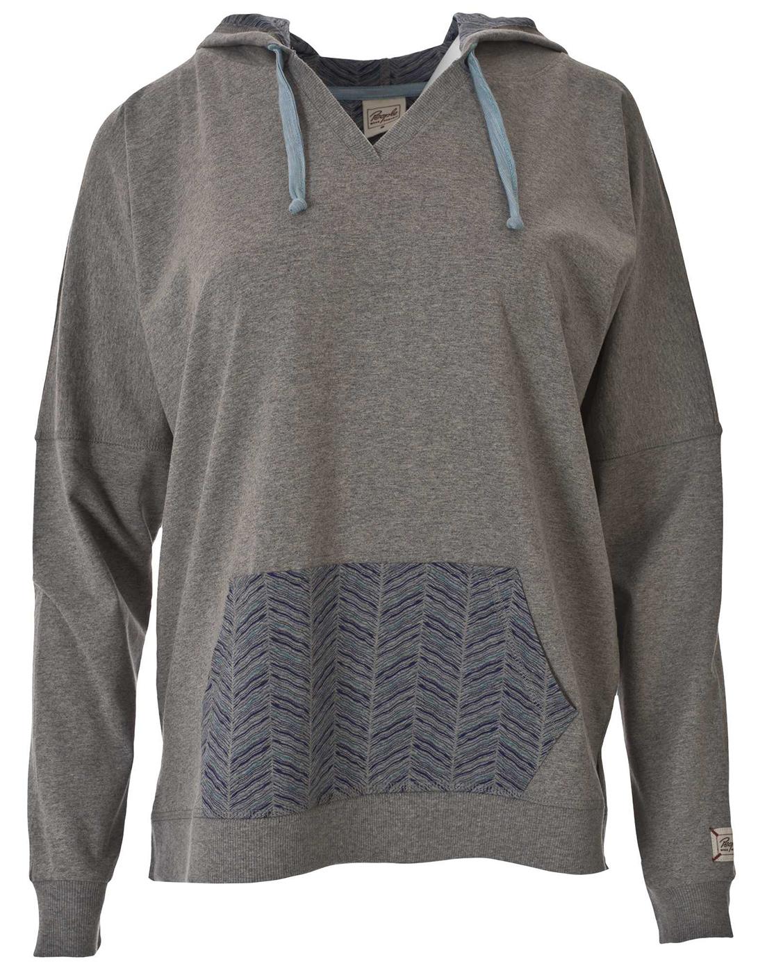 Kapuzenshirt soft, grey