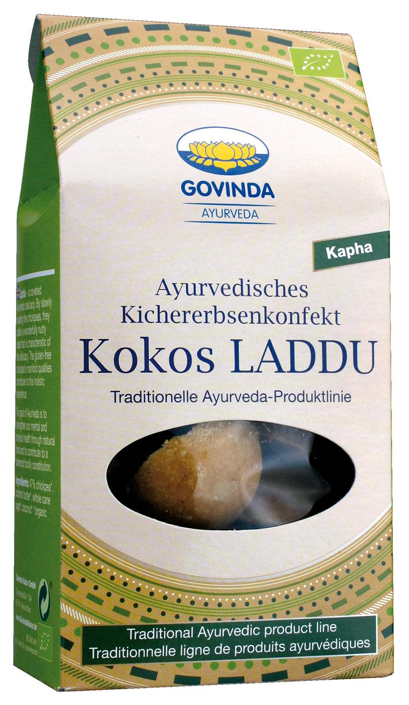 Bio Kokos Laddu, 120 g