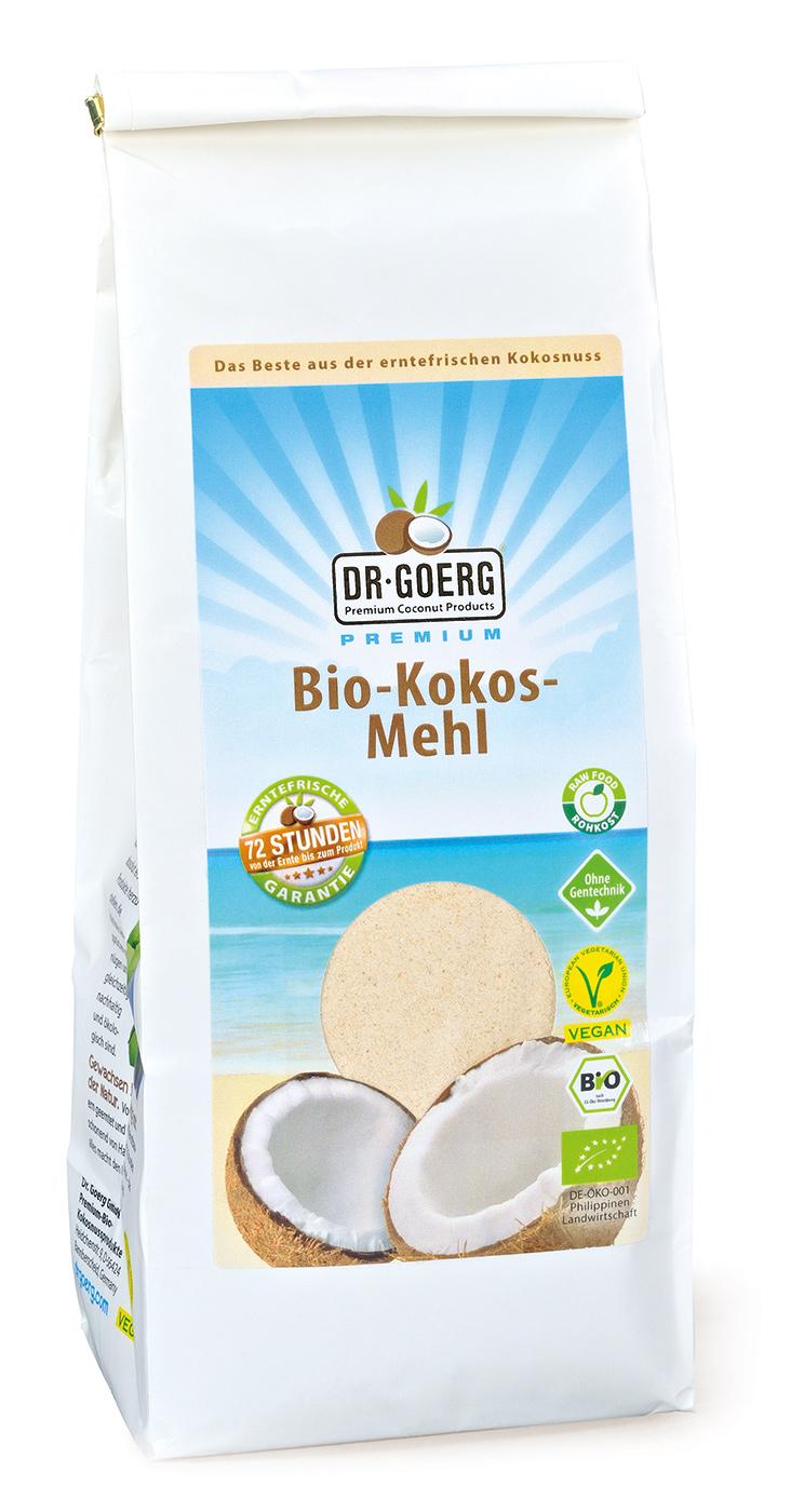 Bio Kokosmehl Dr. Goerg, 600 g