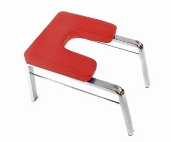 Headstand stool - red