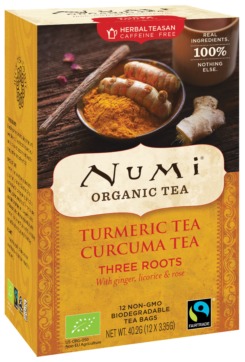 Bio Turmeric Tea Three Roots, 40,2 g