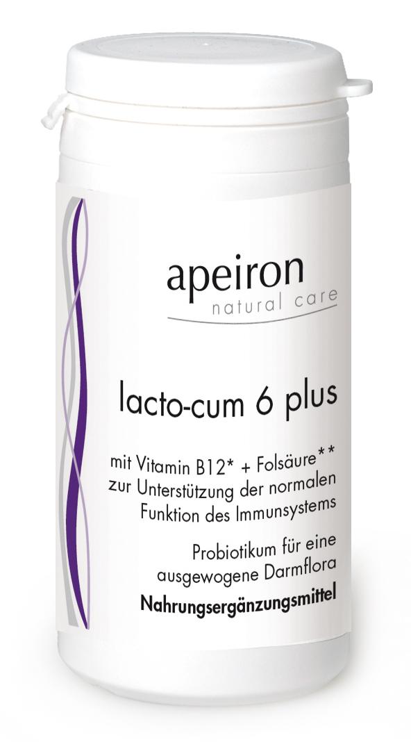 Lacto-Cum 6 Plus Kapseln (90 Kapseln), 34,4 g