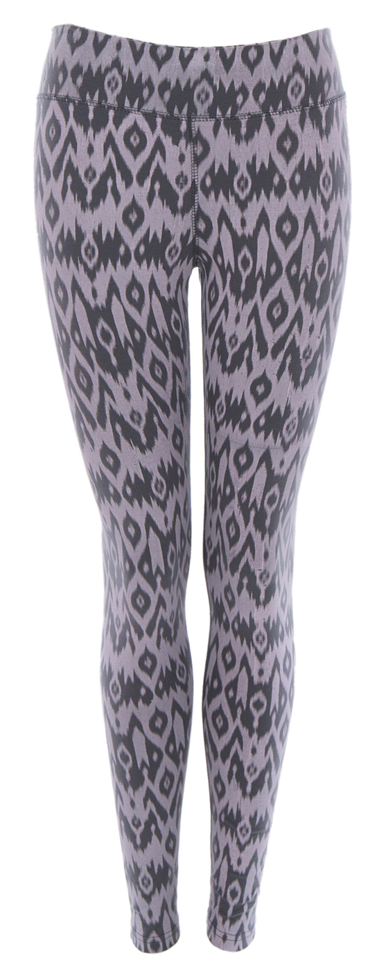 "Leggings ""Lima"" - charcoal/nirvana"