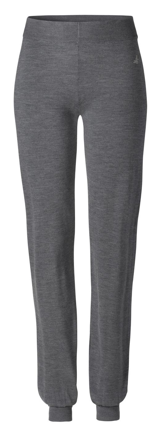 Long cosy Pants - anthrazit melange