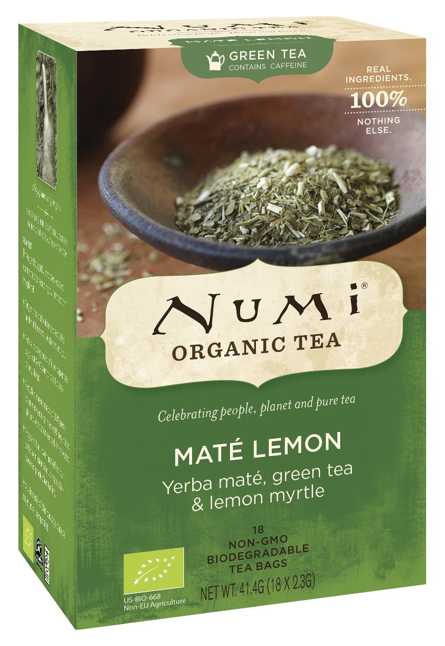 Bio Maté Lemon Green, 41,4 g