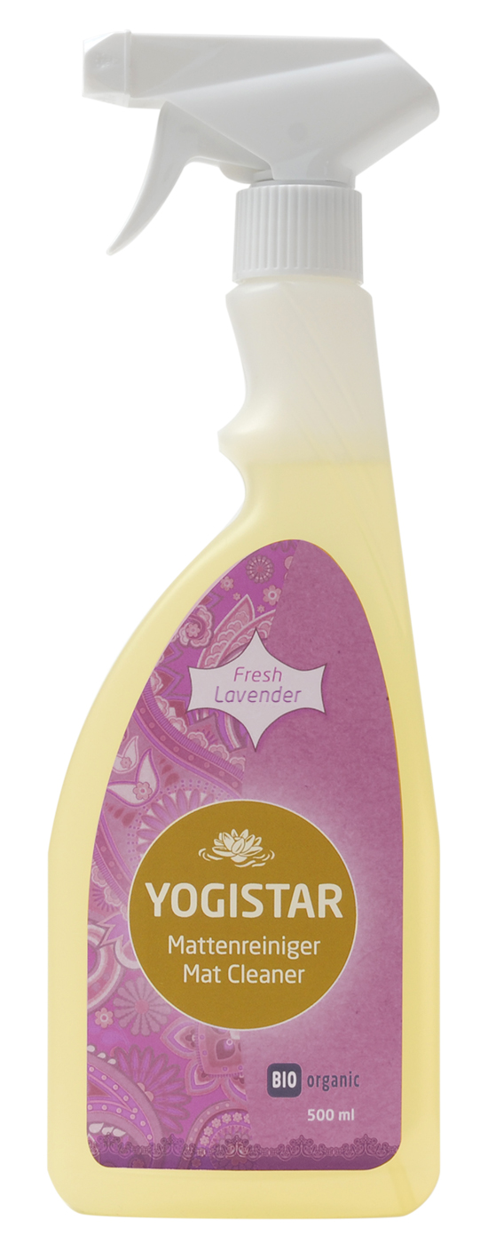 Bio Yoga mat cleaner - fresh lavender - 500 ml