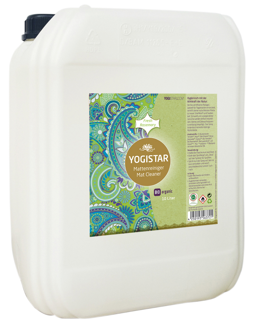 Bio Yogamatten-Reiniger - fresh rosemary - 10 l