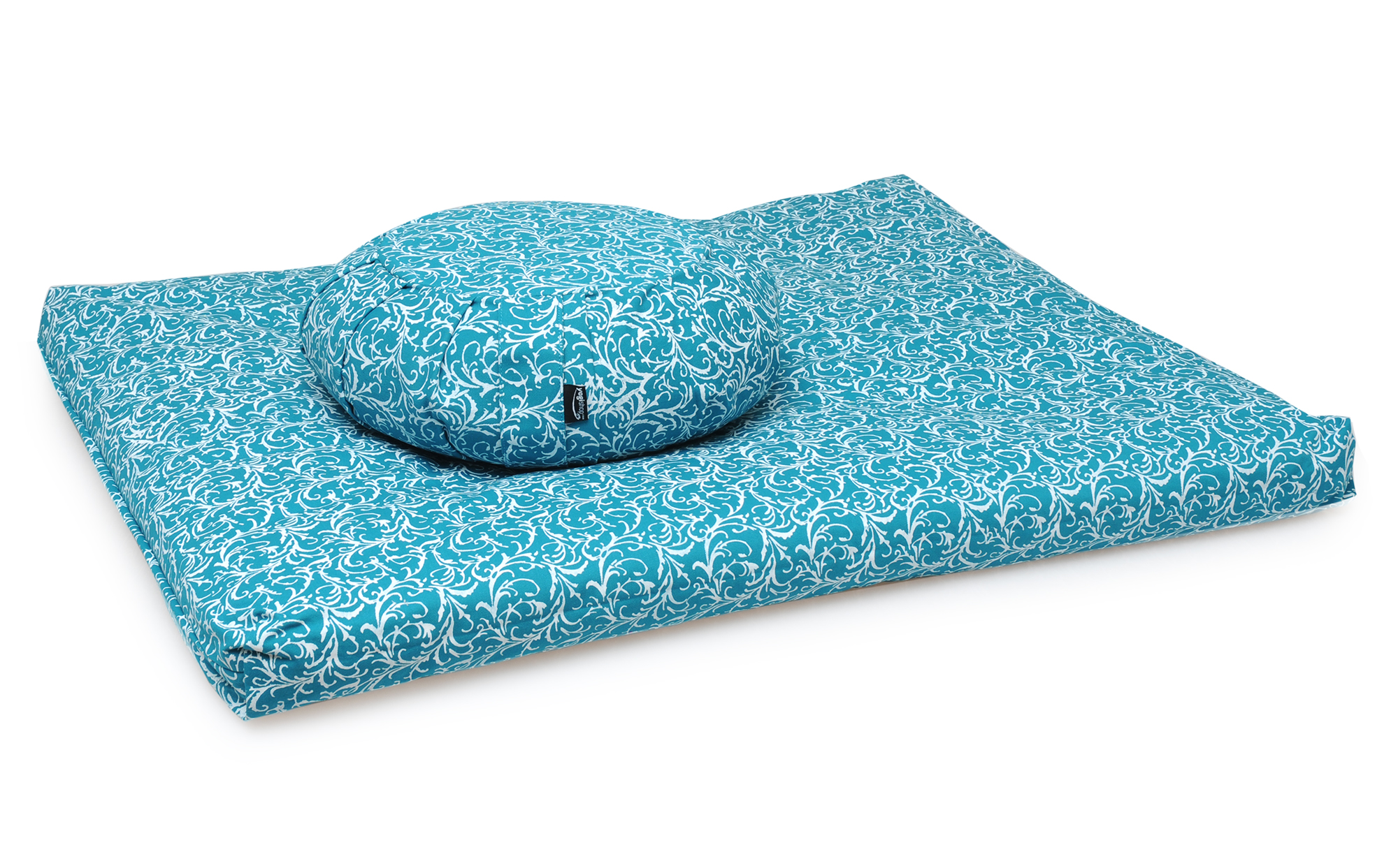 Meditationsset vintage - cotton - turquoise
